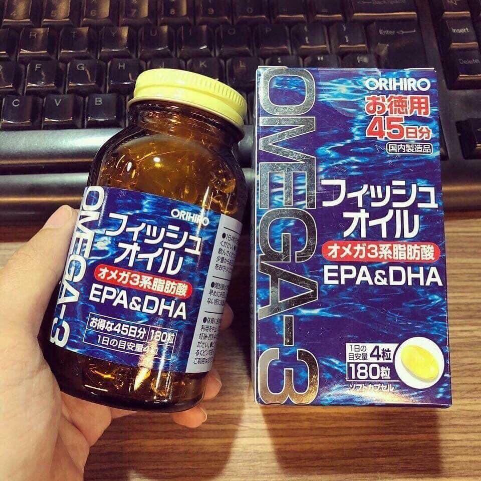 """Kết quả hình ảnh cho Dầu Cá Omega 3 orihiro"""""""