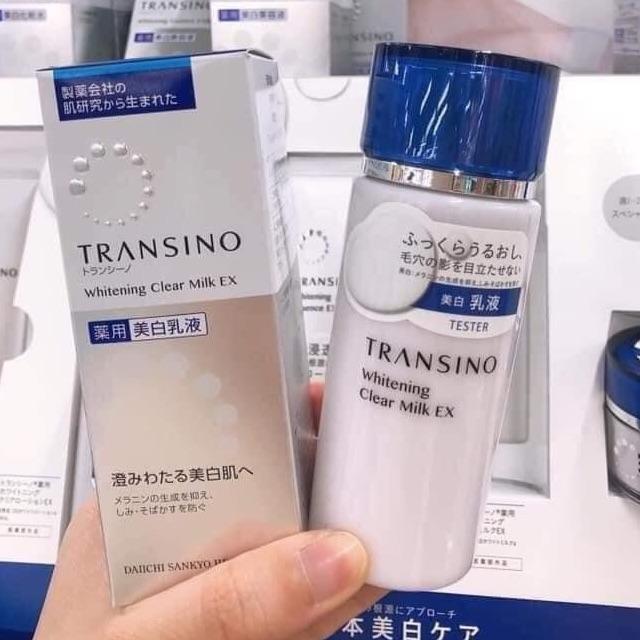 Sữa Dưỡng Trắng Da Transino Whitening Clear Milk EX