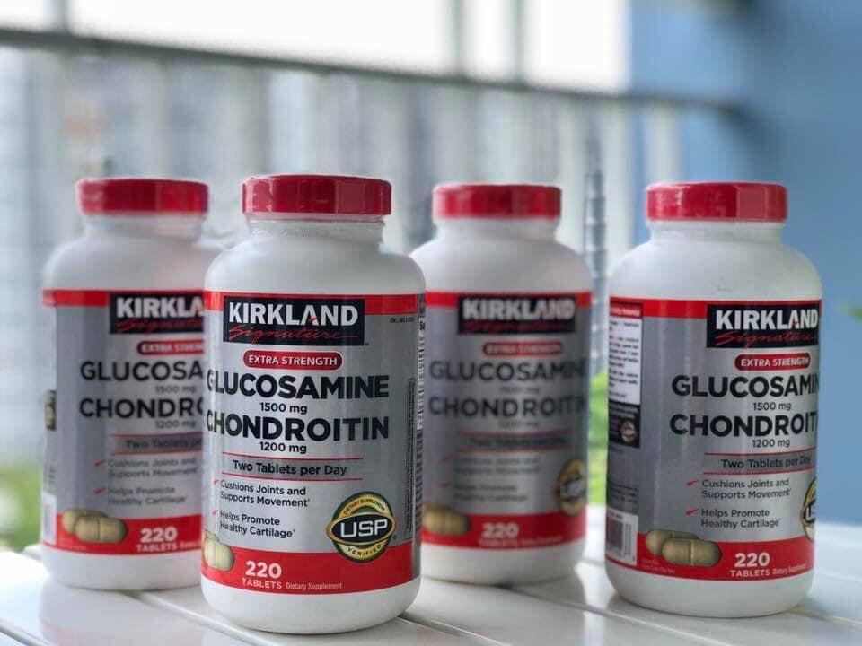 Kirkland Glucosamine Chondroitin 220 viên
